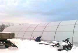 Отопление теплиц площадью от 500 до 1000м.кв.